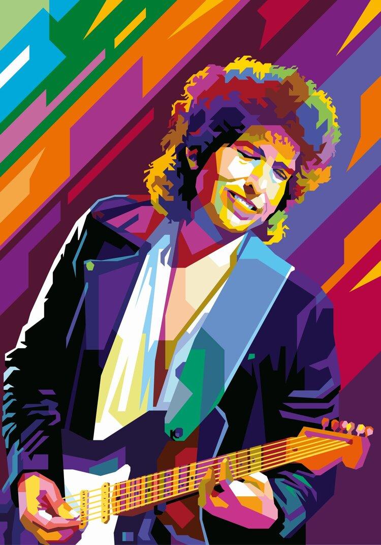 Bob Dylan tendart Torbjorn Endrerud Billedkunstner
