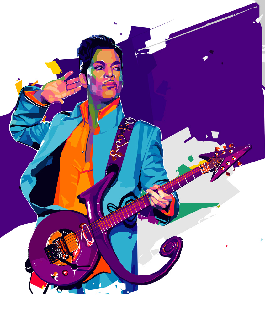 Prince artist tendart torbjorn endrerud dga painting