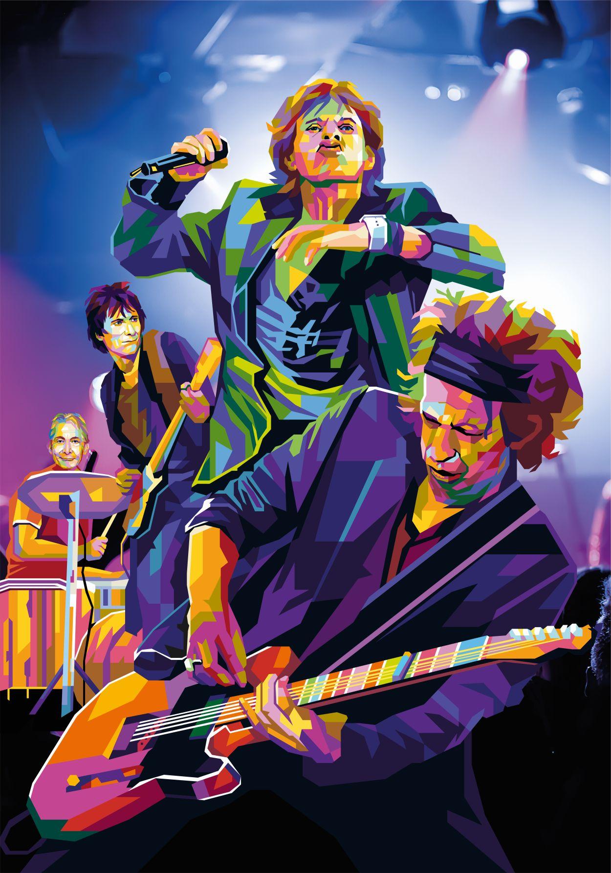 Start Me Up tendart Torbjorn Endrerud Rolling Stones dga